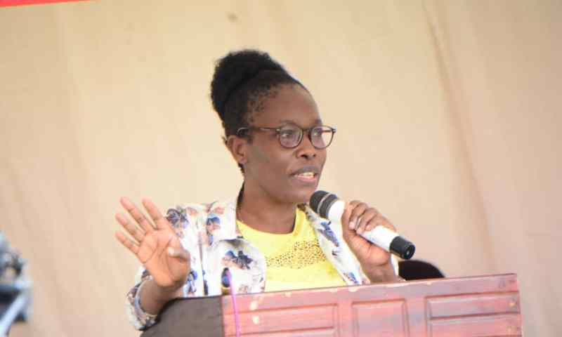 Lands Minister Nabakooba Commissions USMID Roads In Busia, Cautions Contractor On Shoddy Works