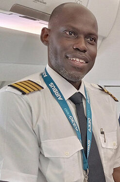 Our Target Now Is Employing Ugandans: Meet Captain Kokoro Janda From Arua, 1st Ugandan To Pass Training To Fly Uganda Airlines' Airbus As Captain In Command