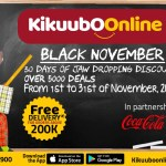 Are You Ready Once Again?! It's Not Your Usual Black Friday But Black November-Kikuubo Online!