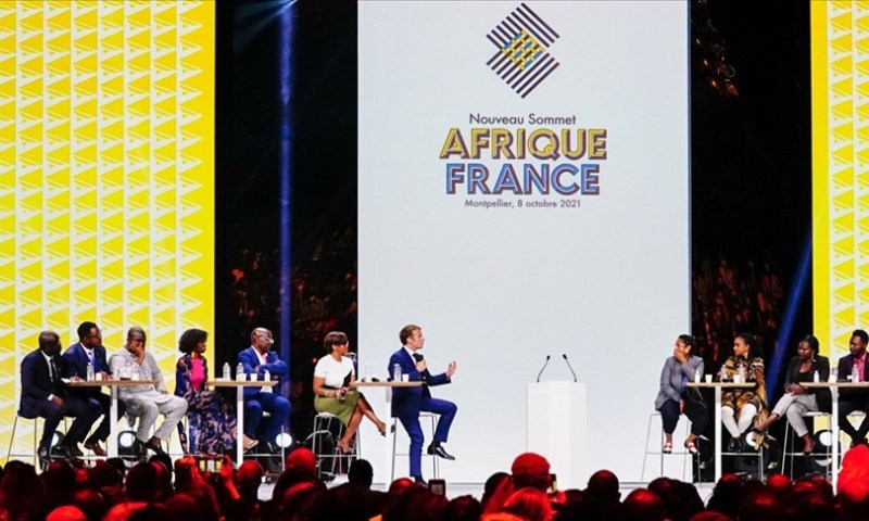 Africa-France Summit: Young Africans 'Slaughter' France's Macron For Backing Colonialism & Supporting Dictators