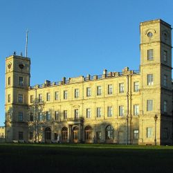 Gatchina_palace._North_view