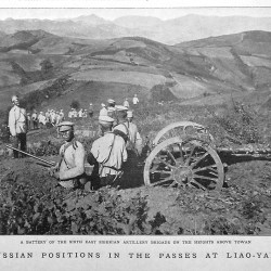 Bulla Russian_positions_in_the_passes_of_Liao-yang