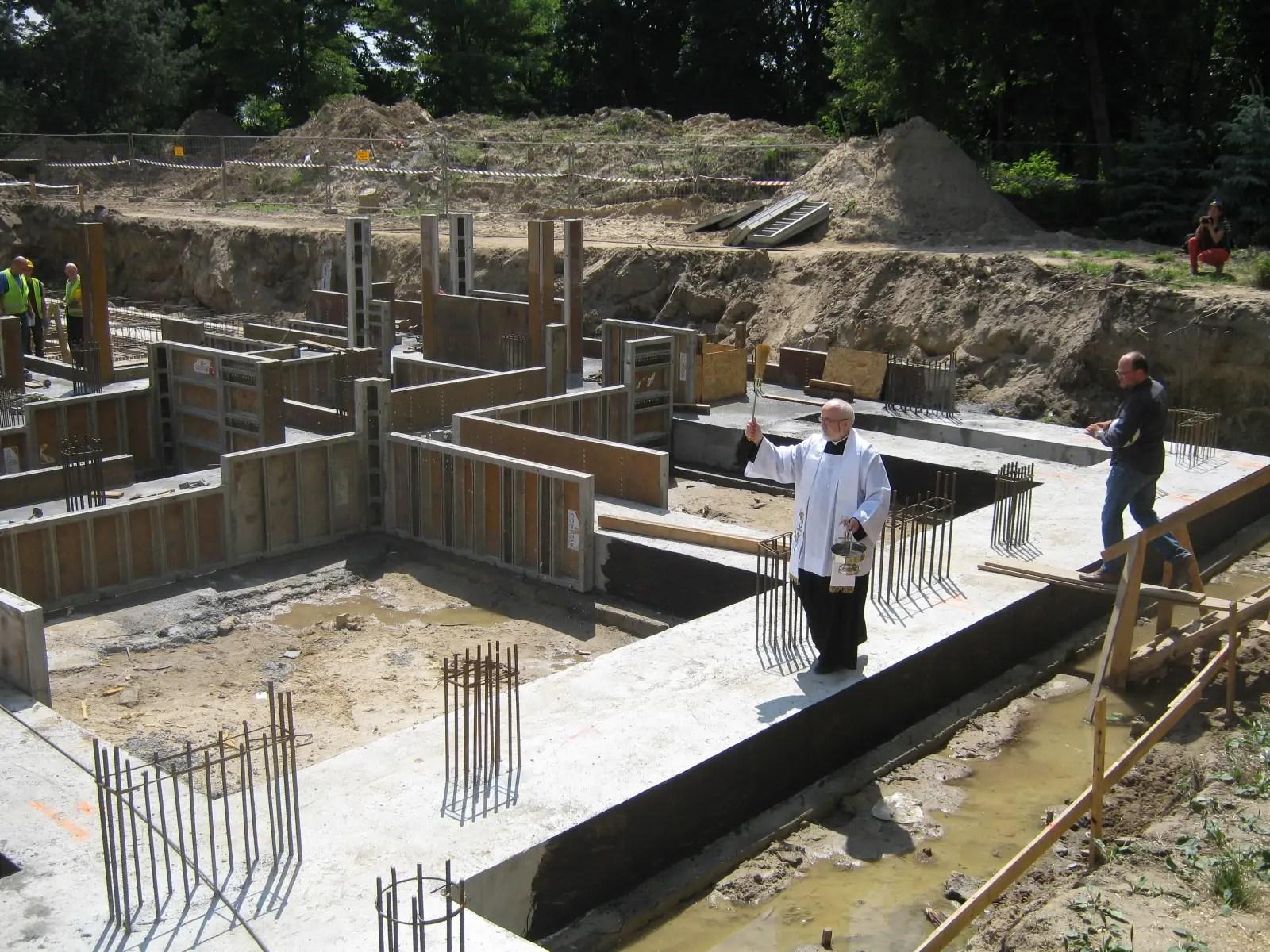 Poświęcenie budowy