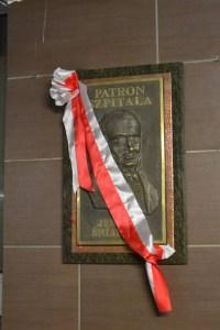 Odsłonięcie tablicy Jędrzeja Śniadeckiego, Patrona Szpitala Powiatowego w Mińsku Mazowieckim