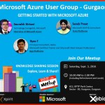 Azure User Group Meetup 3-Sep-2016 | Gurgaon