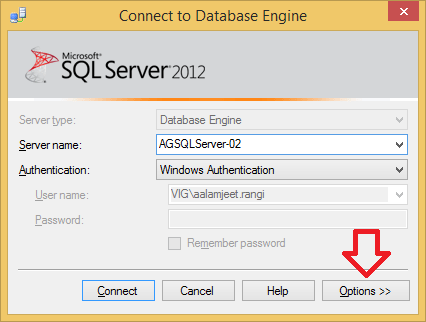 How To Connect SSMS to ALWAYSON Read-Only Secondary Database