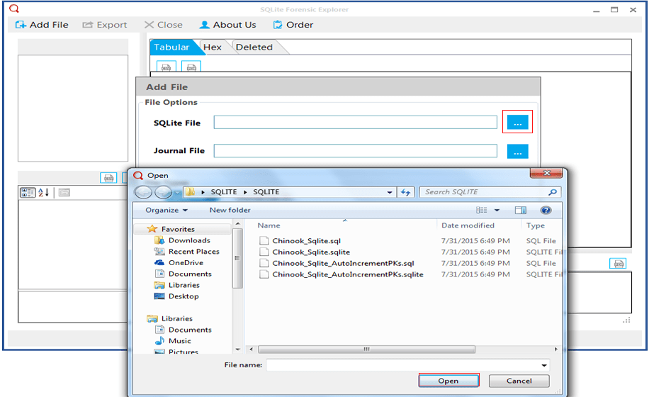 Use Free Sqlite Reader to View Sqlite Database Files