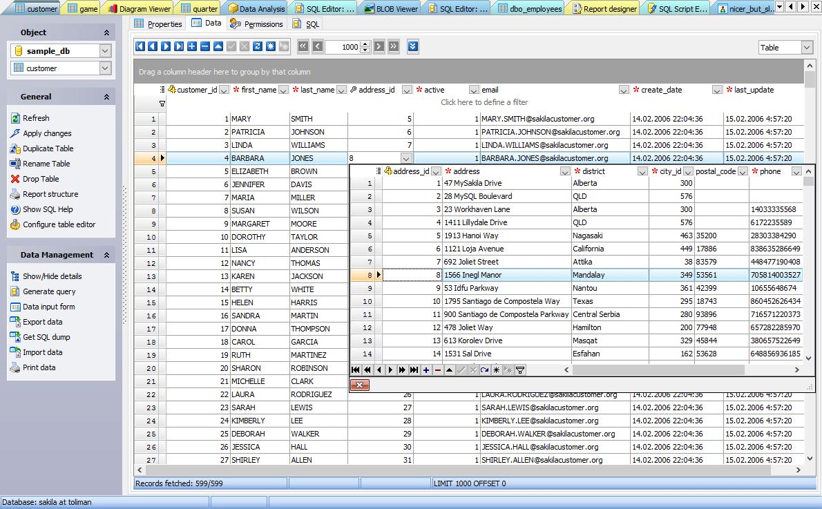 Database Security Features Mysql