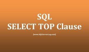 SELECT TOP CLUASE
