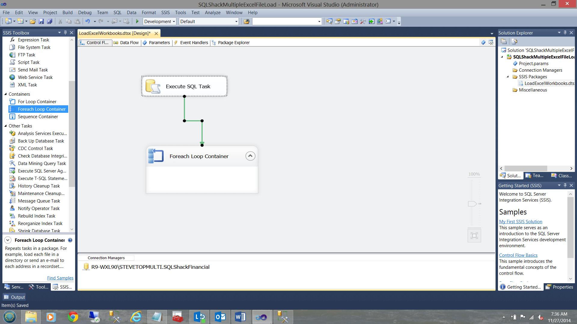 Excel In Loading Multiple Workbooks Into Sql Server