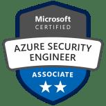 azure security engineer associate badge