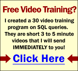 SQL Query Training - FREE 30 Online Videos