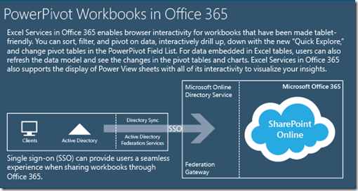 Business Intelligence PowerPivot in Office 365