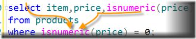 IsNumeric SQL Server