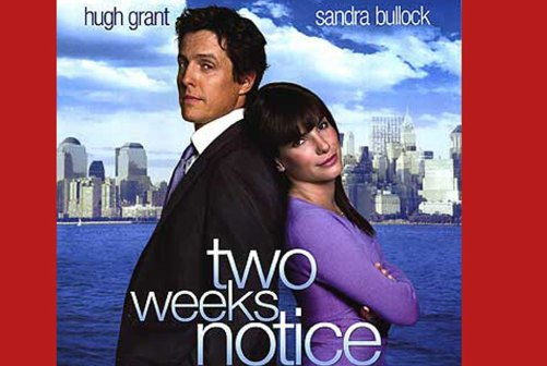 Image result for two weeks notice movie