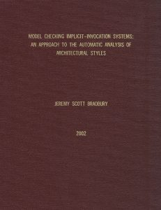 MSc thesis cover (2002)