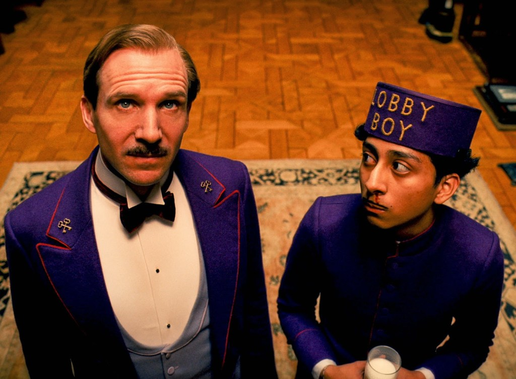 The Grand Budapest Hotel scènes