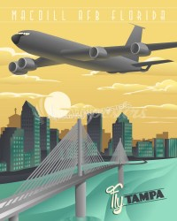 MacDill AFB, Tampa KC-135 | Squadron Posters