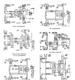 6 1958 68 ford electrical schematics 6 1959 edsel power window wiring diagram  [ 4000 x 5250 Pixel ]