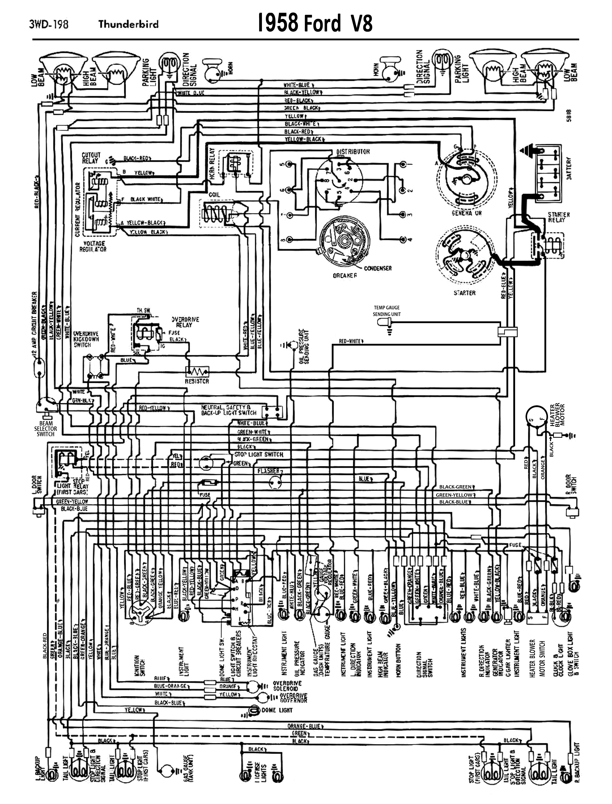 ford charging system wiring diagram trailer light module fault 58