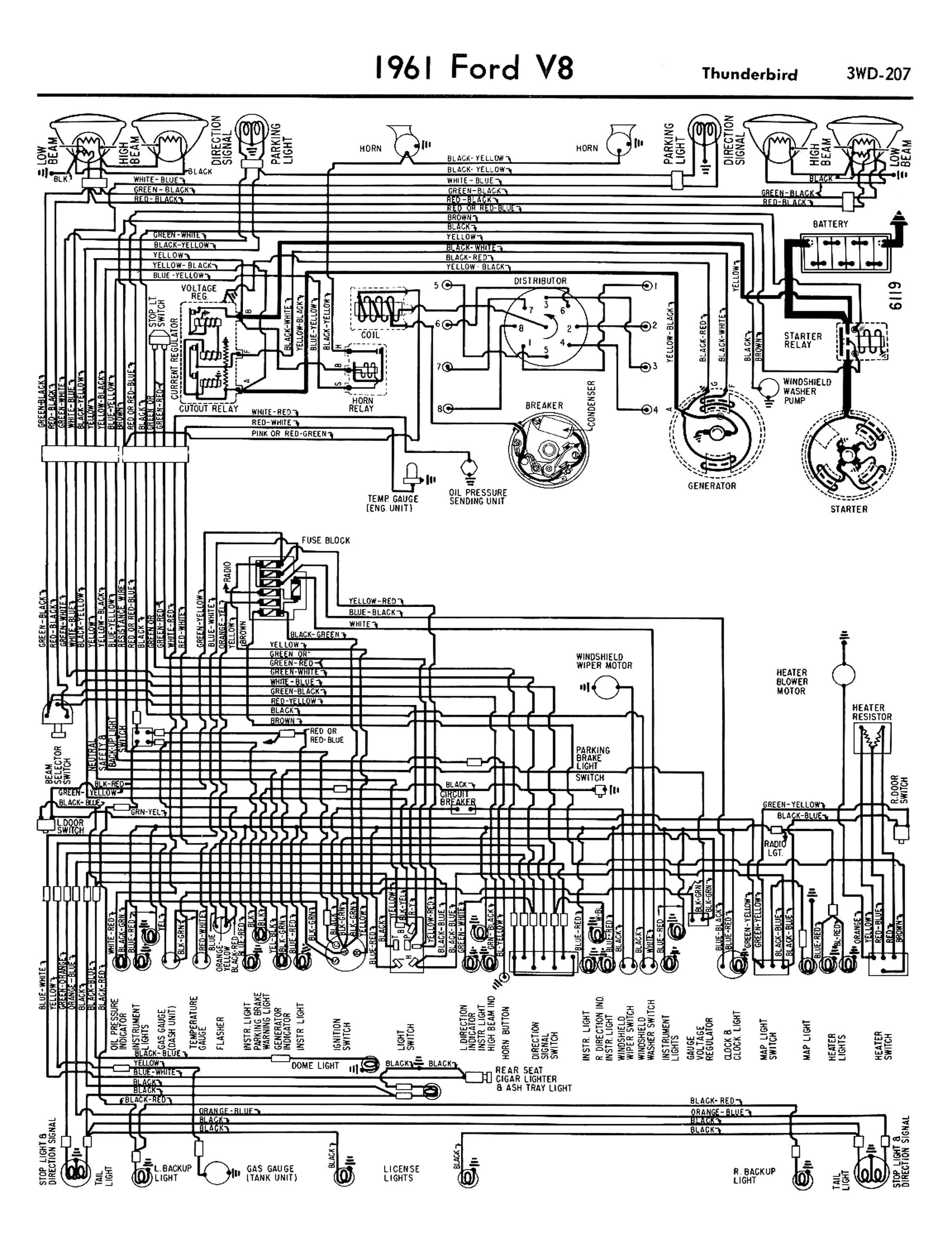 1967 Camaro Fuel Gauge Wiring Diagram 1958 68 Ford Electrical Schematics