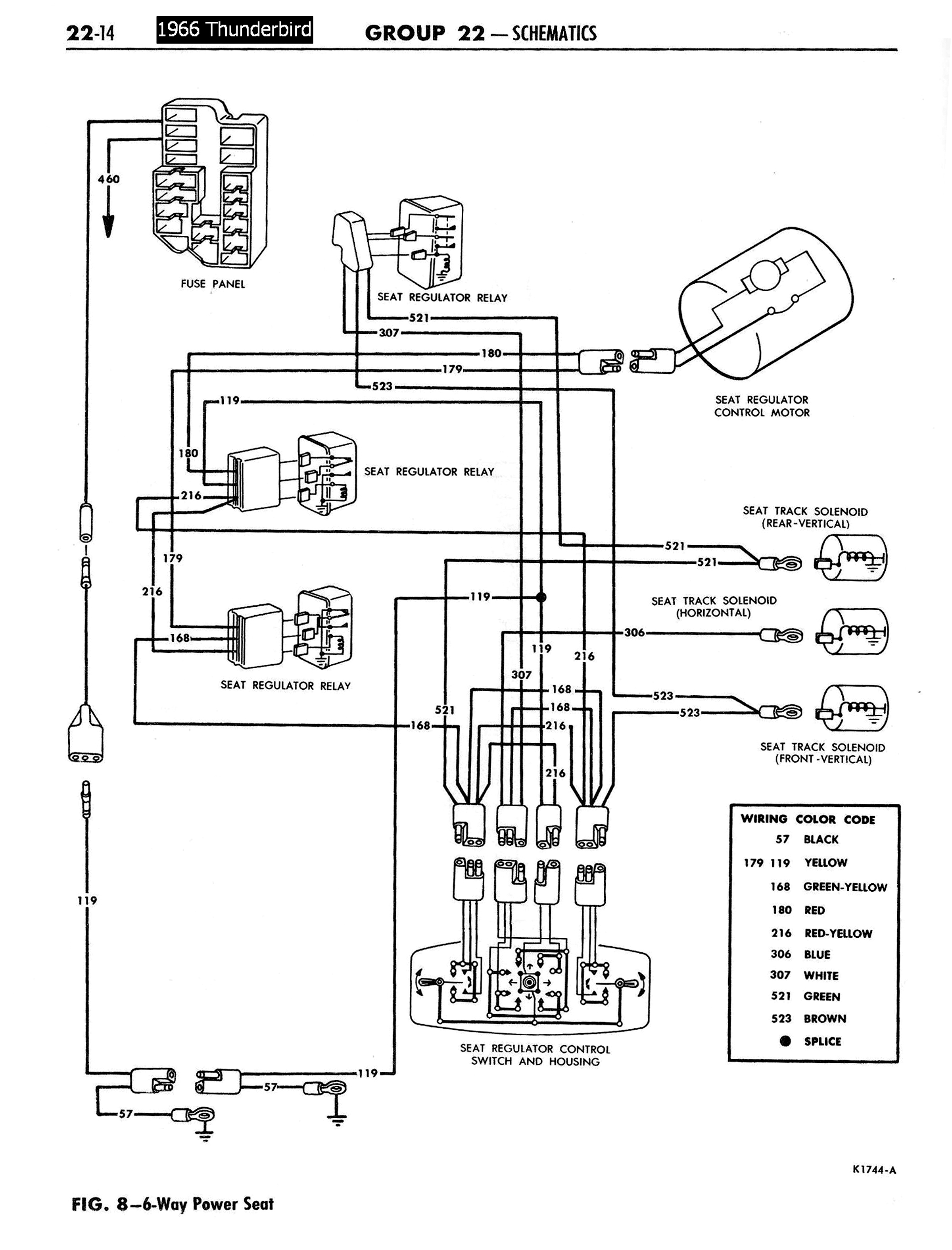 power at light wiring diagram 1997 buick lesabre 1958 68 ford electrical schematics