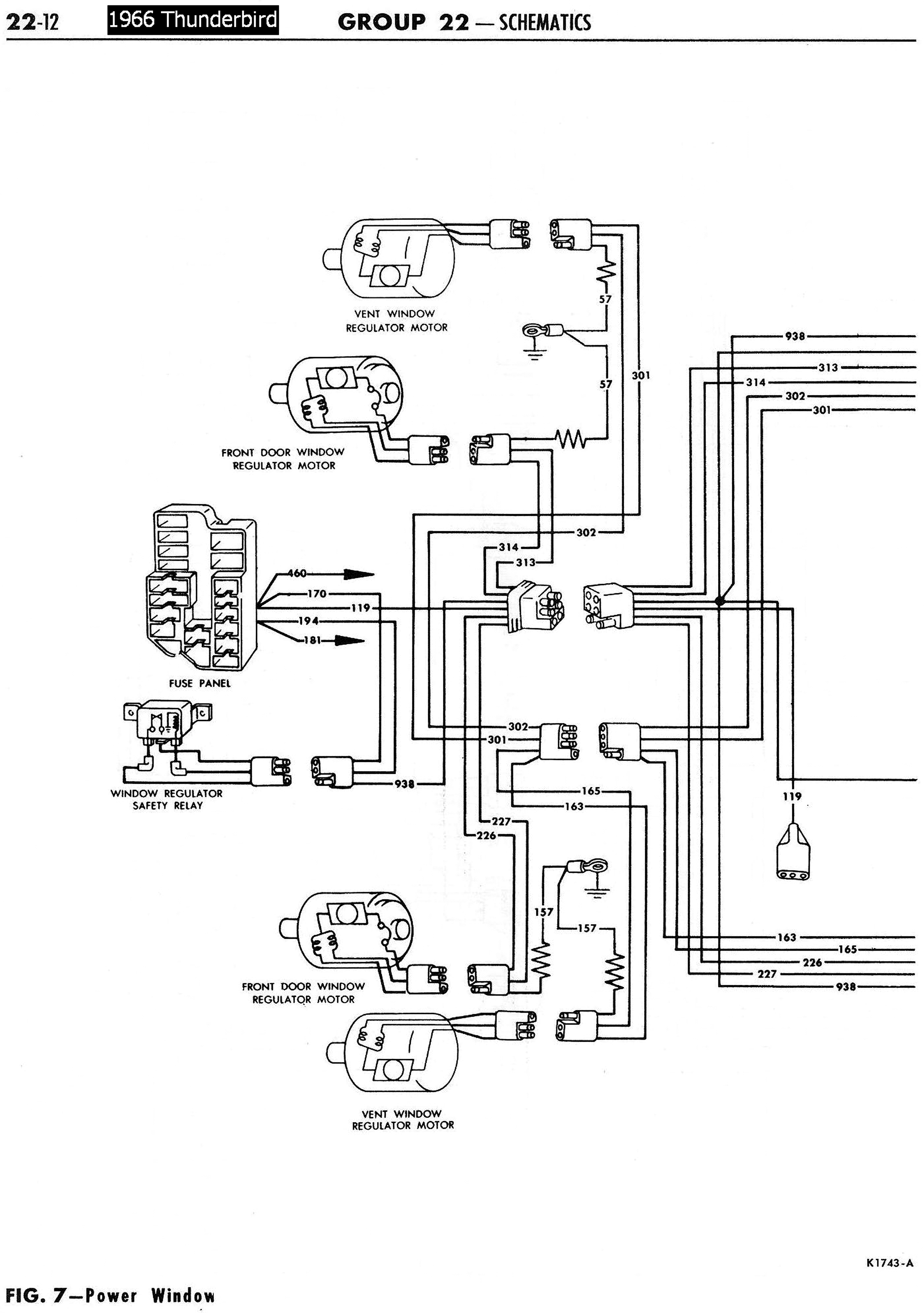 Corvette Power Window Wiring Diagram