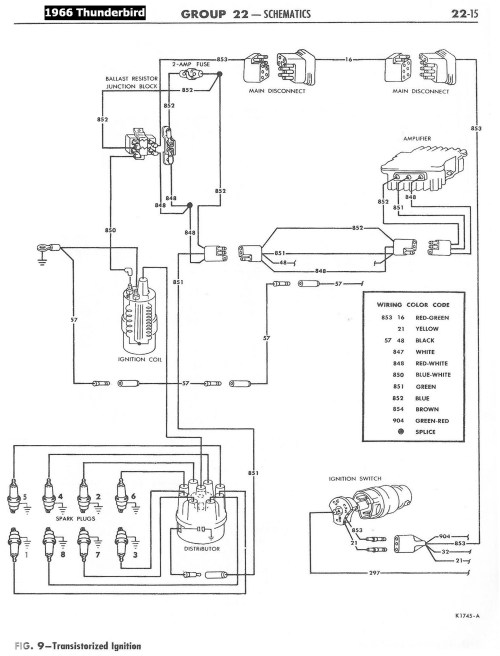small resolution of 1958 68 ford electrical schematics ford thunderbird coil diagram