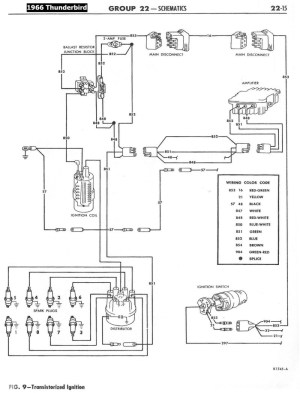 195868 Ford Electrical Schematics