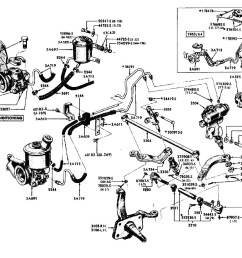 1961 1964 power steering system mpc parts breakout [ 1280 x 881 Pixel ]