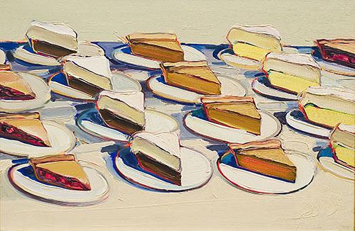 Image result for wayne thiebaud pies