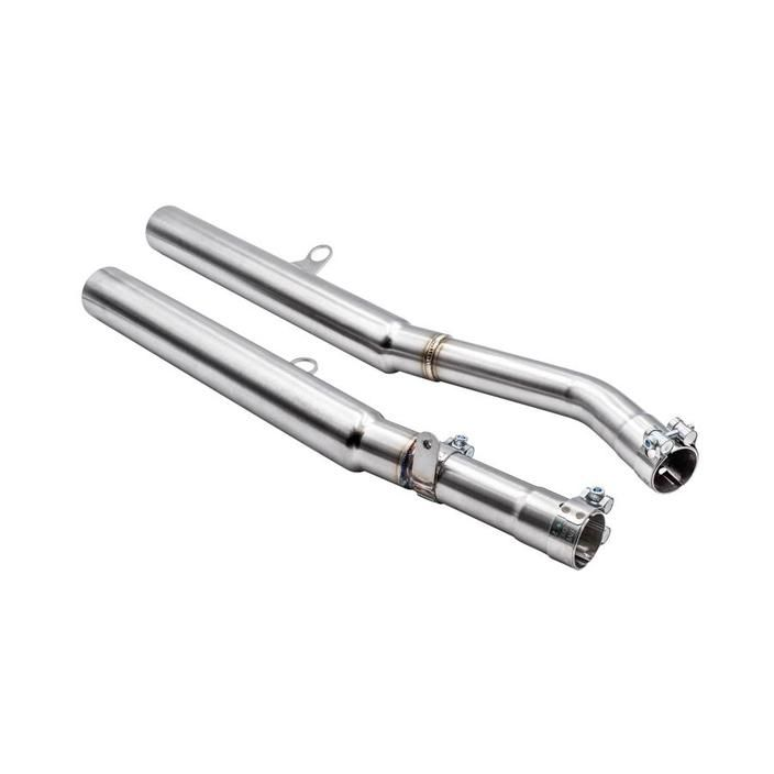 BC Empire Shotgun Stainless Steel Exhausts for Triumph