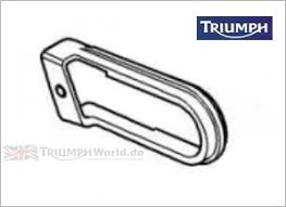 x1 Chain Rubbing Strip Triumph Motorcycle Part Number