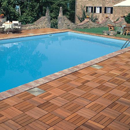 Best Outdoor Wooden Flooring Tiles Deck India  Square Foot