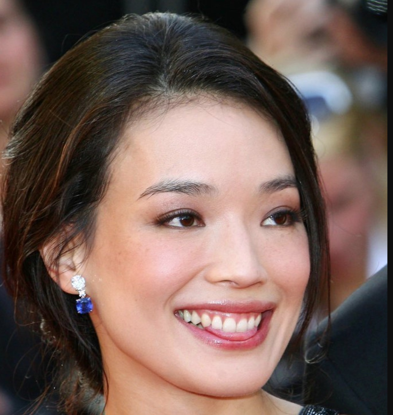 Shu Qi the bright smile - Square Jawed Women