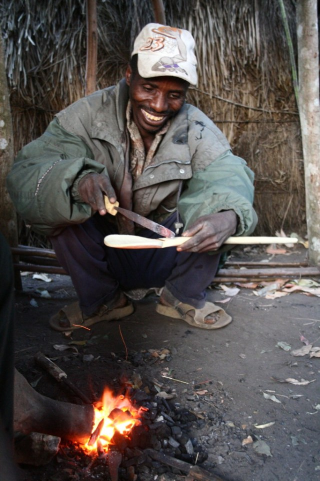 Spoon making class