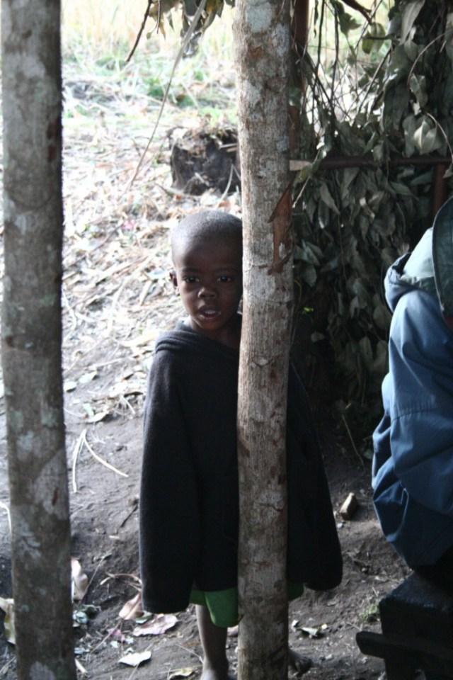 Visit to pygme village