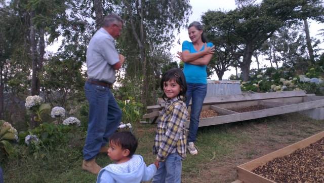 Oscar, Olga, Santiago and Sunalini
