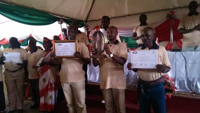 Mpanga washing station. Winners!