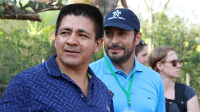 Manuel Rojas and Jairo Ruiz from Banexport