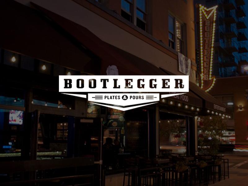 Bootlegger San Diego Gaslamp bar logo