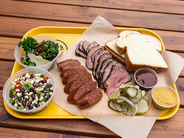 Park 101 barbecue platter