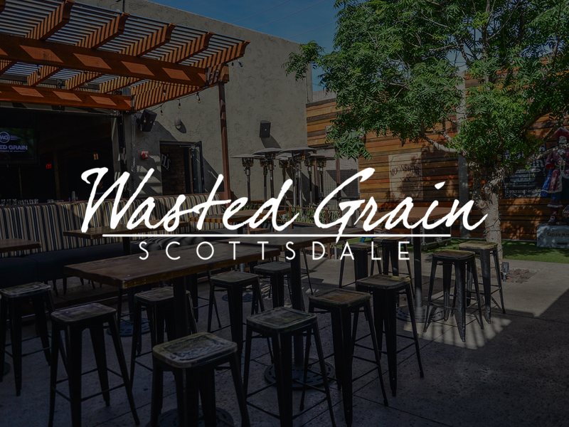 Wasted Grain Banner