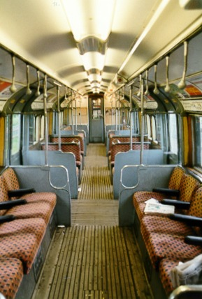 Uk 1959 Tube Stock