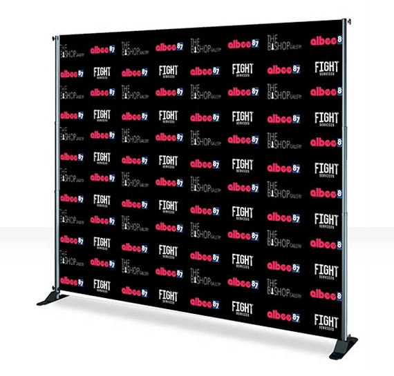 8x5, 8x8, 10x8 and 12x8. 8x10 Step And Repeat Banner And Stand Print 8x10 Backdrop Squar Pix