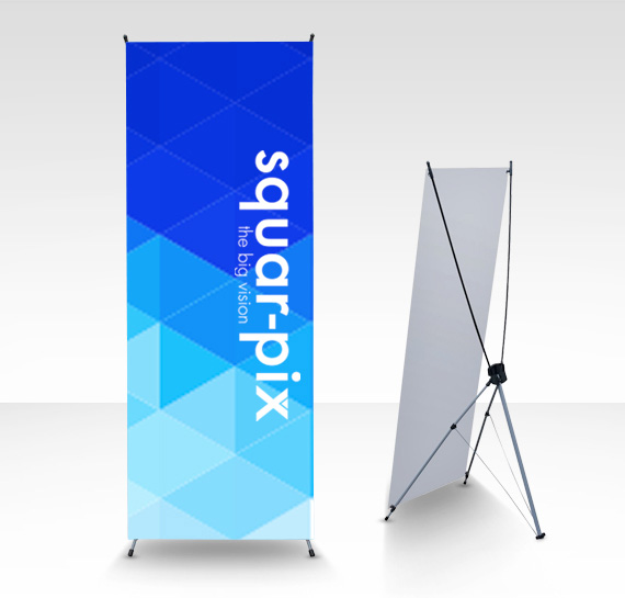 x banner stands promotional