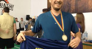 Campionatul National de Squash, carel bruseker si alex diaconu