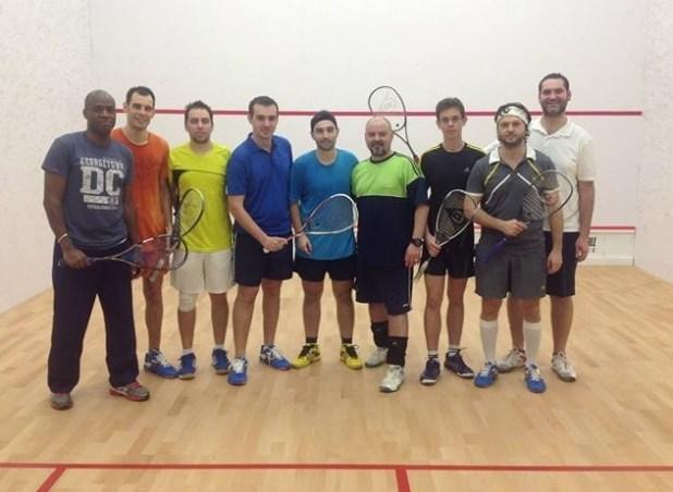 Squash Training Boot Camp, cu Ollie Olabinri