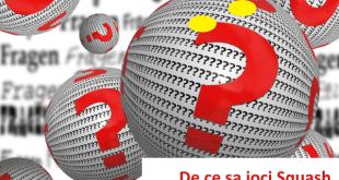 de ce sa joci squash? 5 motive