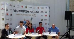 WSF Ambassador Programme Romania - conferinta de presa